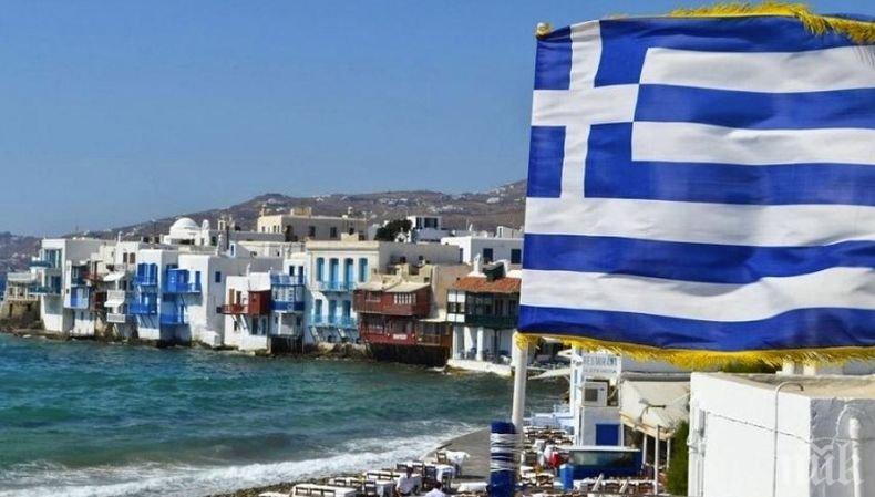 Чудовищен срив на постъпленията от чужди туристи в Гърция