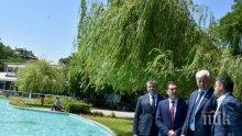 Пуснаха Пеещите фонтани в Пловдив