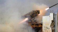 Русия удари по въздух Сирия за първи път от примирието
