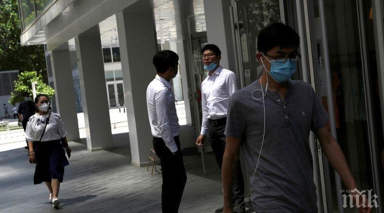 В Китай е регистриран само един новозаразен с коронавируса за последното денонощие