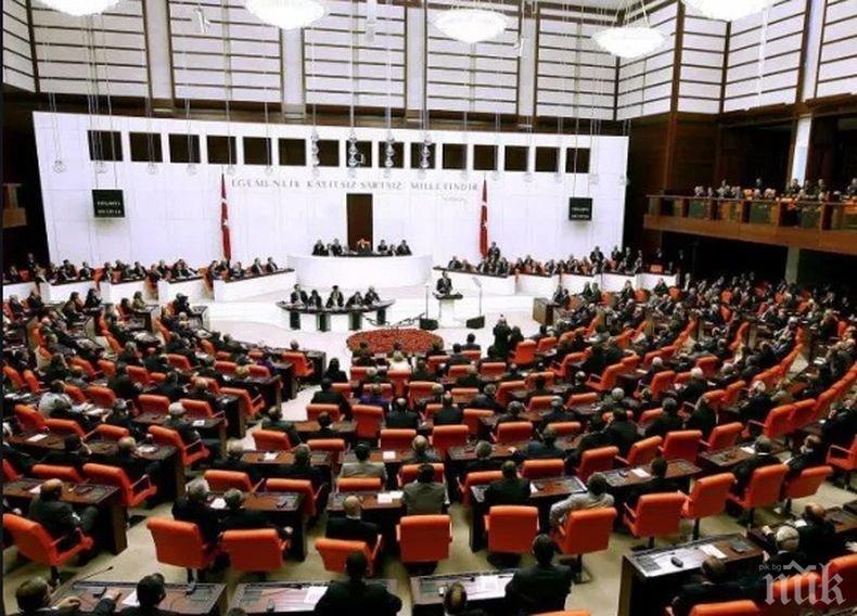 Турският Меджлис подновява работа след 45 дни пауза заради коронавирусната епидемия
