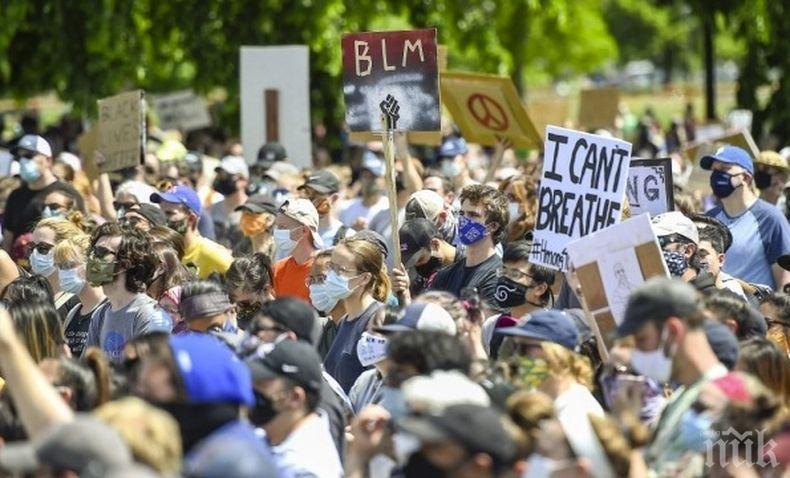 Хиляди в Европа протестираха заради убийството на Джордж Флойд