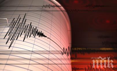 Земетресение с магнитуд 5.0 по Рихтер бе регистрирано край бреговете на Камчатка