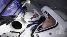 """Американските астронавти, които пристигнаха на МКС с кораба """"Крю Дракон"""", се подготвят за излизане в открития Космос"""