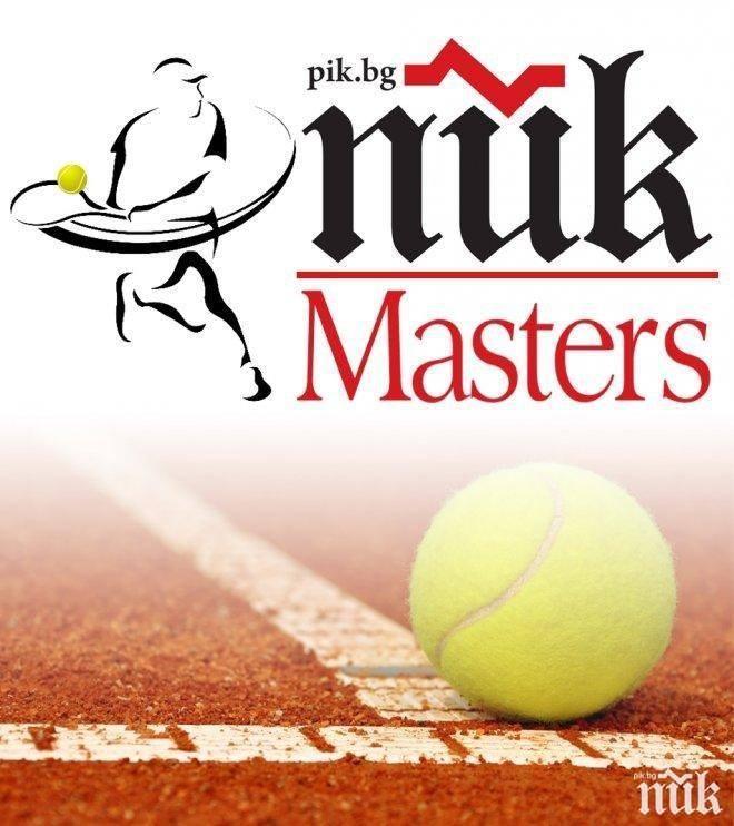"""СТРАХОТНА НОВИНА: Задава се новото издание на """"ПИК мастърс"""", тенис шоуто на годината"""