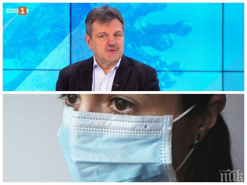 ДОБРА НОВИНА! Топ пулмологът Александър Симидчиев: 90 процента от преболедувалите COVID-19 изграждат имунитет