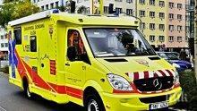 Автобус и влак се удариха в Чехия, има поне 10 ранени