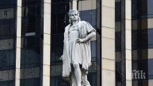 Кметът на Ню Йорк отказа да премахне статуя на Колумб