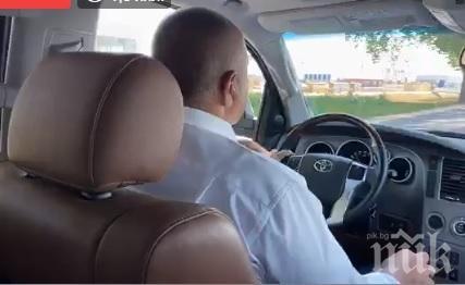 ПЪРВО В ПИК TV: Борисов на инспекция край Мездра - строят ударно скоростният път от Ботевград (ВИДЕО)