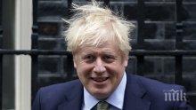 Борис Джонсън катастрофира