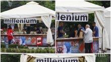 """ЕКСКЛУЗИВНО В ПИК TV! Издателство """"Милениум"""" с огромни отстъпки на пролетния базар на книгата пред НДК - ето кои са литературните шедьорви на сезона (ВИДЕО)"""
