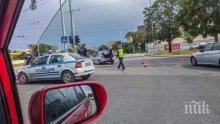 ИНЦИДЕНТ: Шофьор помете дядо с внуче на пешеходна пътека в Пловдив