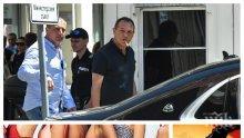 САМО В ПИК: Харемът на Божков фрашкан с манекенки - красавиците му спретнали маскен бал за Хелоуин