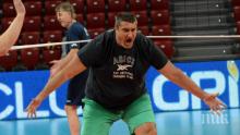 Любо Ганев посети лагера на волейболните националки в Пловдив