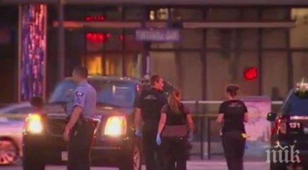 стрелба минеаполис един човек загинал ранени