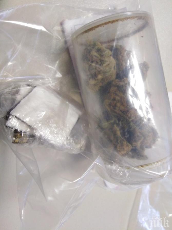 В ПЛОВДИВ: Полицаи закопчаха дилър на кокаин (СНИМКИ)