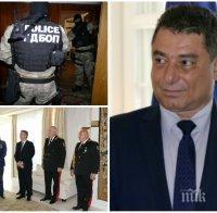 РАЗКРИТИЕ НА ПИК: Арестуваният с подкуп топ шеф на ГДБОП Цветан Панков с безупречно досие! Кичил се с медали, преди да го пипнат с пачките - банкнотите са белязани, а сумата е 5000 лв.
