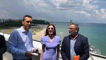 Кунчев доволен от тестването в Бургас