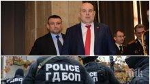 """ПЪРВО В ПИК TV! Гешев и Маринов с извънредни разкрития след историческа спецакция на """"Вътрешна сигурност"""" в МВР - шефът на борбата с дрогата в ГДБОП арестуван с подкуп, опъвал чадър над наркоканали у нас и в чужбина! (ВИДЕО/ОБНОВЕНА)"""