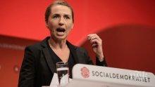 Министър-председателката на Дания отложи сватбата си заради ЕС