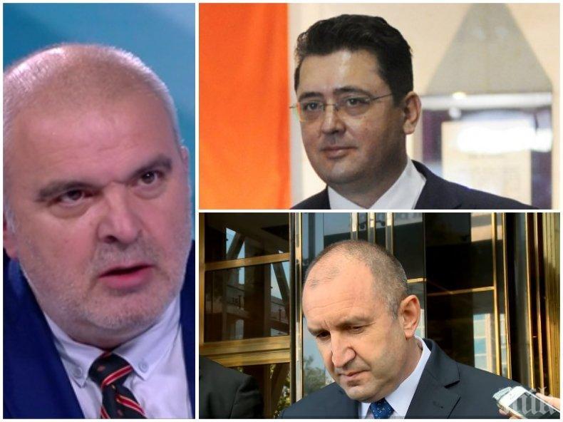 Маноил Манев: Президентският секретар Узунов е бил министър на вътрешните работи! Представяте ли си как са назначавани началници, директори на служба