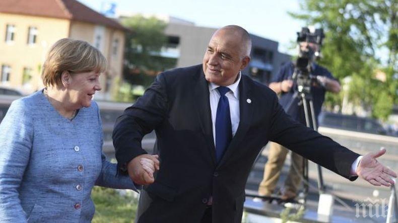 ЕМОЦИОНАЛНО: Премиерът Борисов със специален ВИДЕО поздрав на немски към Меркел