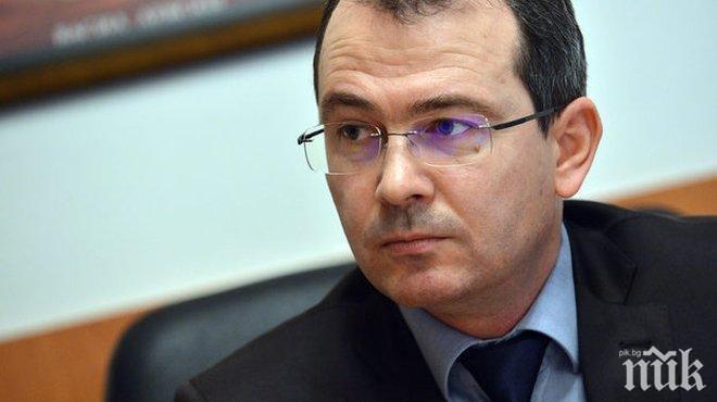 ПЪРВО В ПИК: Чистка в МВР - Младен Маринов прие оставката на зам.-главния секретар