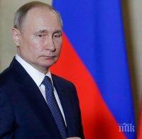 ИНФОРМАЦИОННО ЗАТЪМНЕНИЕ: Кремъл няма да съобщава с коя ваксина ще се имунизира Путин