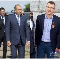 Румен Радев къса опашката си - изгони Узунов от антуража си след аферата с Бобоков! Ето кой смени оскандаления секретар като дясна ръка на президента (СНИМКА)
