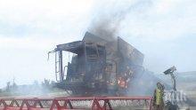 Пожар изпепели 200 дка ечемик край село Василовци