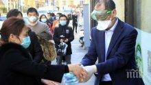 Само три нови случая на заразяване с коронавируса в Китай за денонощие</p><p> </p><p>