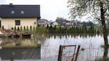 Буря с поройни дъждове отнесе словашко село