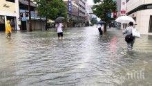 Препоръчаха на 70 000 души да се евакуират от град в Япония заради заплаха от свлачища