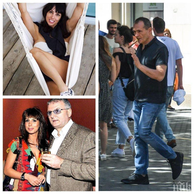 САМО В ПИК: Брадърката Зара забъркала Божков в любовен триъгълник - слагала рога на хазартния бос с известен столичен бохем