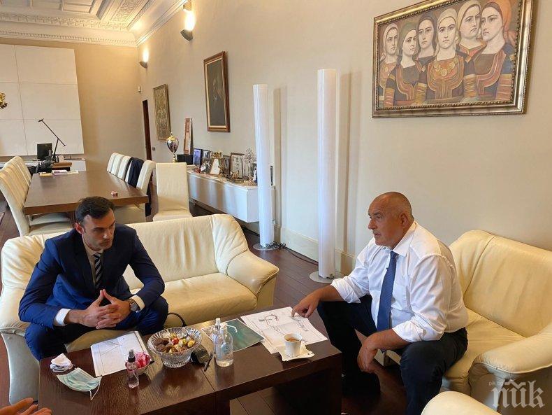 ПЪРВО В ПИК: Борисов се срещна с кмета на Бяла за изграждането на брегоукрепително съоръжение (СНИМКИ)