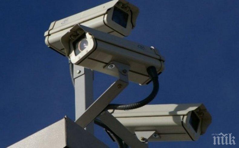 1000 камери пазят Пловдив от вандали