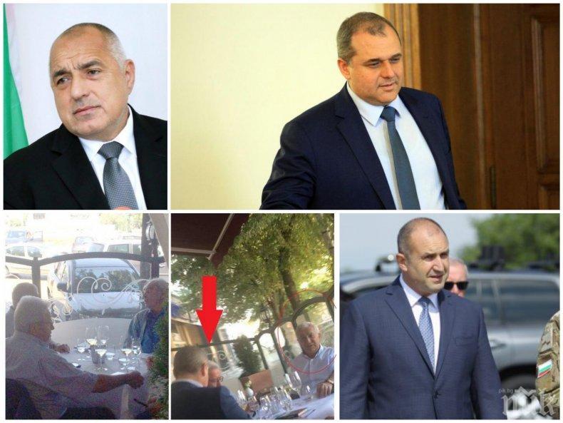 """Искрен Веселинов призна за обяда с близкия на Румен Радев агент """"Паскал"""" от ДС: Какъв заговор видяхте срещу премиера - да се свети името му! (СНИМКА)"""