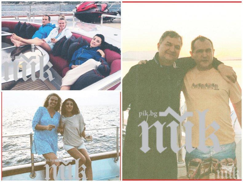 ФОТОБОМБА В ПИК: Вижте как верните другари Васил Божков и Пламен Бобоков посрещат Джулая заедно с жените си (НОВИ СЕНЗАЦИОННИ СНИМКИ)