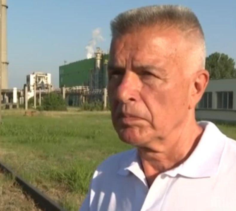 """Собственикът на """"Свилоза"""" с подробности за инцидента химическия завод: Това не е точно взрив, а пробив"""