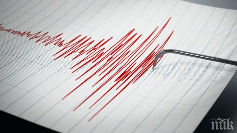 ИЗВЪНРЕДНО В ПИК: Земетресение разбуди Симитли