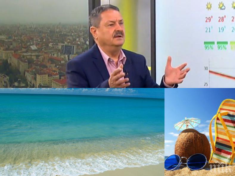 КАКВО ЩЕ Е ЛЯТОТО: Топ климатологът проф. Георги Рачев разкри какви ще са отпускарските месеци