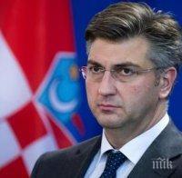 Премиерът на Хърватия: До 1 май ще имаме 1 млн. дози ваксини срещу коронавируса