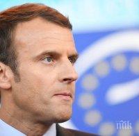 Президентът на Франция призова англо-саксонските страни да отменят забраните за износ на ваксини