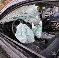 тежка катастрофа магистрала хемус румънски автобус загина мъж