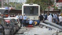 КАТАСТРОФА! 17 ранени и един загинал, след като автобус се заби в бетонен стълб край Анкара