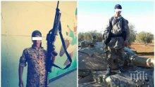 ПЪРВО В ПИК: Спецпрокуратурата повдигна обвинения в тероризъм на шампиона по борба от Бургас! Вижте СНИМКИ на Мохамед Абдулкадер като джихадист
