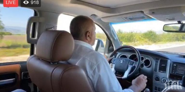 ПЪРВО В ПИК TV: Премиерът Борисов пред нов път и училище край Велинград: Яд ги е, че строим, а те 50 години нищо не са направили! Да ме снимат гол, колкото искат (ВИДЕО)