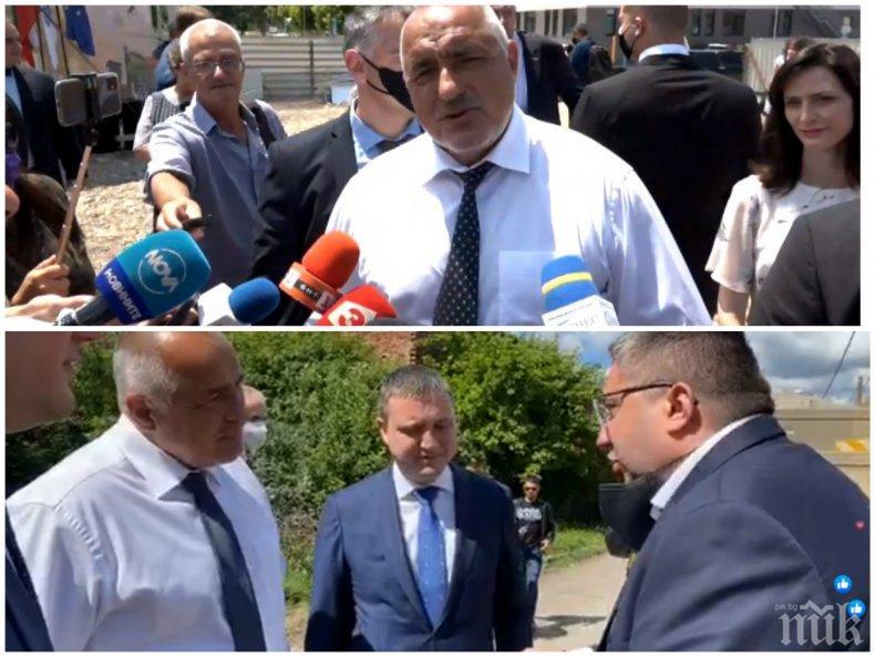ГОРЕЩО В ПИК TV: Борисов разказа за инцидент в джипа: Влезнах в дупка и Горанов си тресна главата! Вече не нося телефони - сутрин снимам чекмеджета, дрешници, гардероби (ВИДЕО)