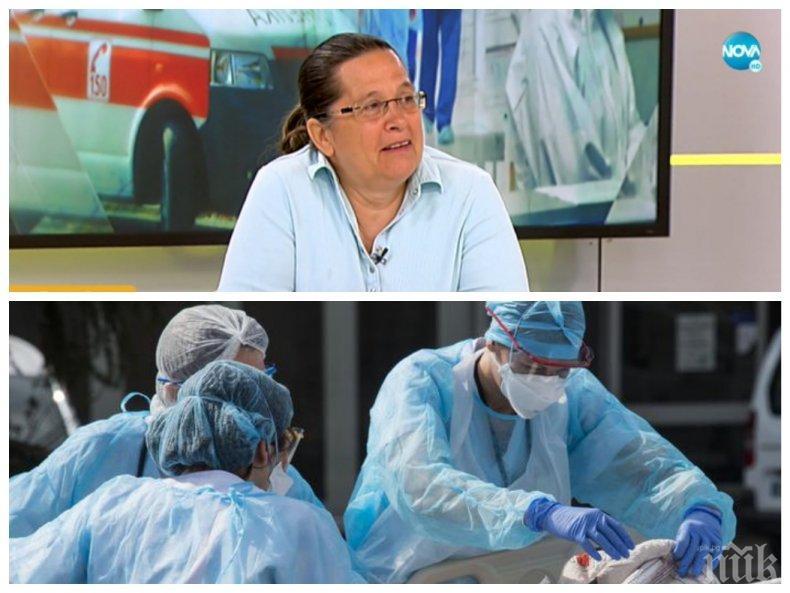 Д-р Гергана Николова: Хората се умориха, обвиняват ни, че ще измислим болест, за да си мият и краката