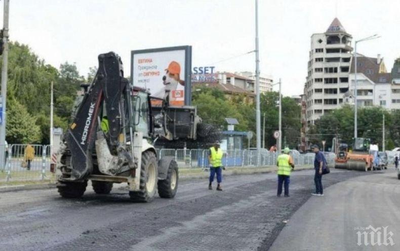"""Започва рехабилитацията на нов участък от бул. """"България"""" в столицата"""